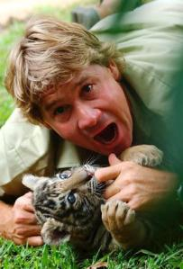 Honoured ... Steve Irwin.