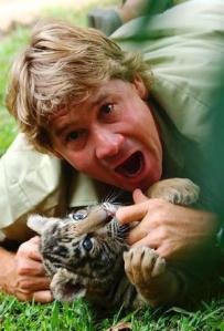 Honoured ... Steve Irwin.